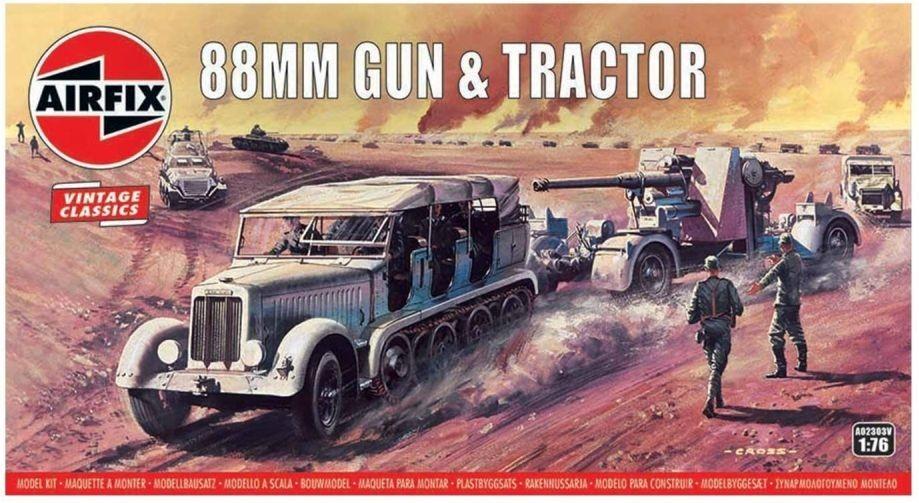 88MM FLAK GUN & TRACTOR