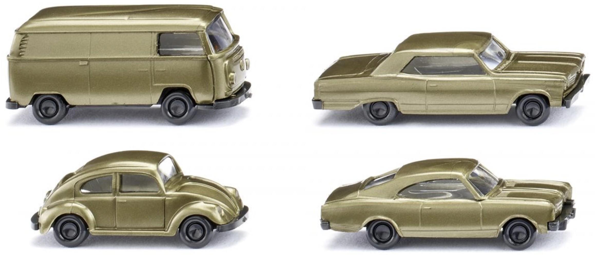 3 PKW und 1 Kleinbus 50 Jahre N-Spur - 4 CAR SET