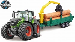 Fendt 1000 VARIO TRACTOR + TREE FORWARDER