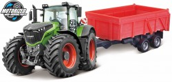 Fendt 1000 VARIO TRACTOR + TIPPING TRAILER