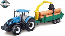 New Holland T7.315 TRACTOR + TREE FORWARDER