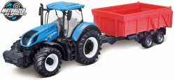 New Holland T7.315 TRACTOR + TIPPING TRAILER