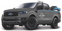Ford RANGER 2019 + FXSTB NIGHT TRAIN 2002 'HARLEY-DAVIDSON'