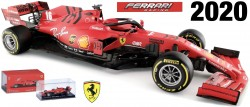 Ferrari SCUDERIA SF1000 #5 SEBASTIAN VETTEL SEASON CAR 2020  With Helmet.