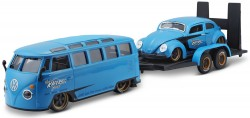 VW T1 VAN 'SAMBA' + VW KEVER - 2 CAR SET