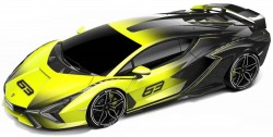 Lamborghini Sian FKP 37 (Yellow Fade Color) 2020