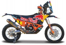 KTM 450 450 #1 TOBY PRICE RALLY FACTORY EDITION DAKAR RALLY 2019