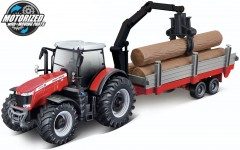 Massey Ferguson 8740S  + TREE FORWARDER