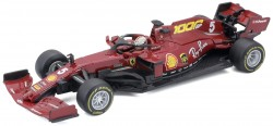 Ferrari SCUDERIA SF1000 #5 SEBASTIAN VETTEL SEASON CAR 2020  With Helmet. 1000 Race  Toscane.